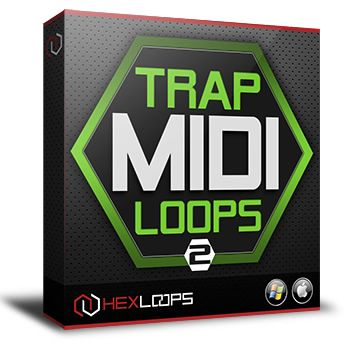 Trap MIDI Loops Vol 2 is now available and comes with a new collection of over 280 midi files special designed and selected for all modern trap and hip hop producers.