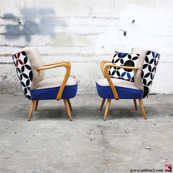 Les 25 meilleures id es concernant tissu pour fauteuil sur pinterest diy coussin tricot - Comment nettoyer des chaises en tissu ...