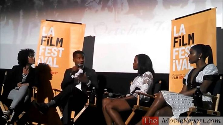 THE BIRTH OF A NATION talk with Nate Parker, Gabrielle Union & Aja Naomi King, June 2, 2016