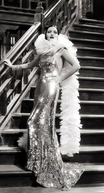 Kay Francis in 'Mandalay' (1934, dir. Michael Curtiz). She was one of George Gershwin's many lady loves.