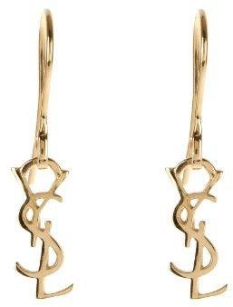 SAINT LAURENT Monogram earrings