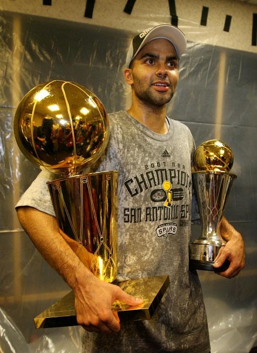 Tony Parker NBA Finals MVP San Antonio Spurs NBA Champions