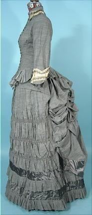Gray day dress