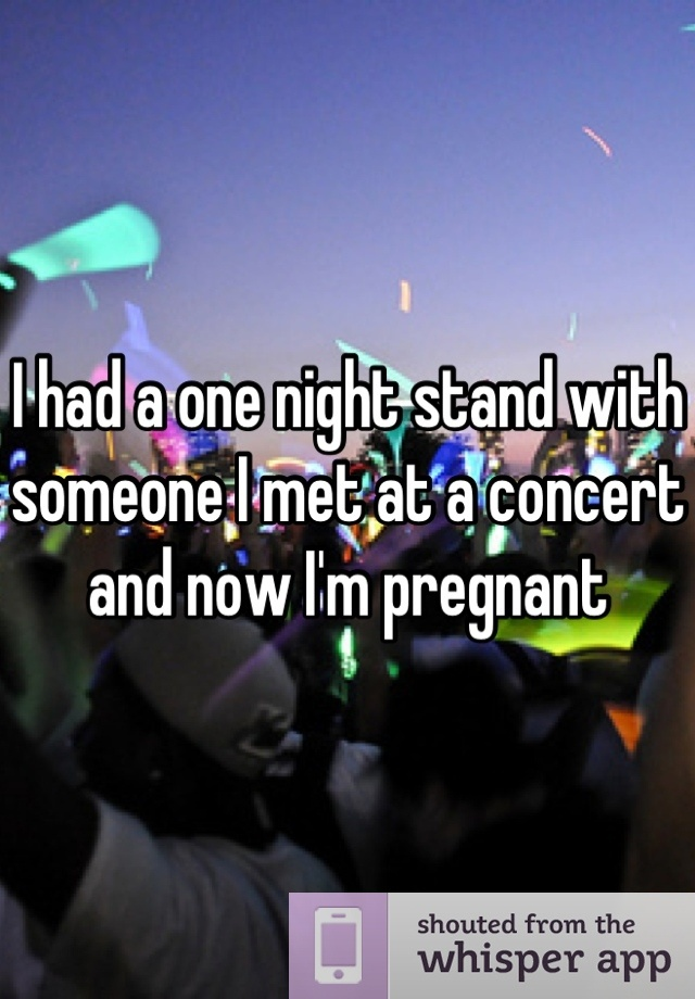 pregnant with one night stand hamar