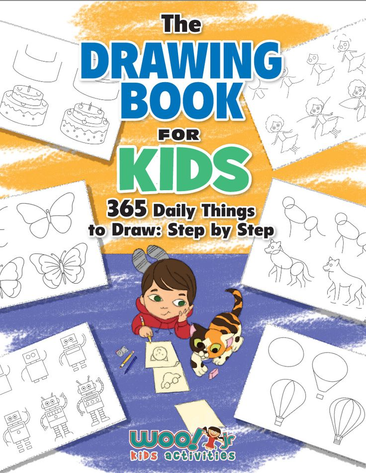kids book learning how to draw