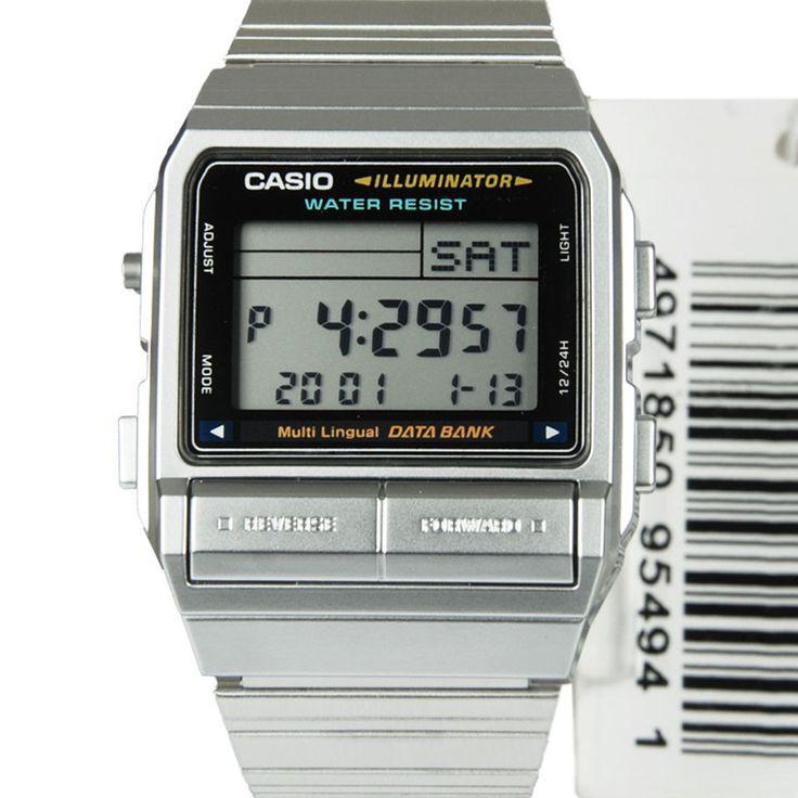 Chronograph-Divers.com - Casio Quartz Data Bank Multi-Alarm Watch DB-380-1DF, $44.00 (http://www.chronograph-divers.com/db-380-1df/)