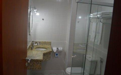 O banheiro aquecido