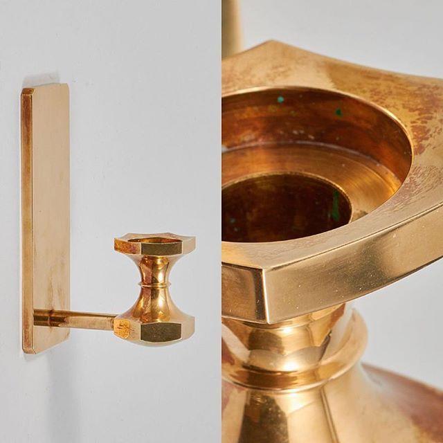 Lampett från Gusum #vintage #interior #details #brass #gusum #industrial