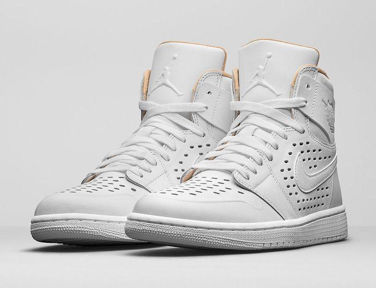 "Air Jordan 1 ""Perforated"" Brings Back Vachetta Tan - Air Jordans, Release Dates & More | JordansDaily.com"