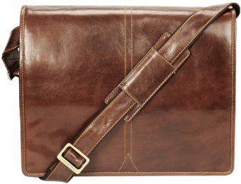 77fb245a06c Visconti Aldo Vintage Tan Leather Briefcase VT7