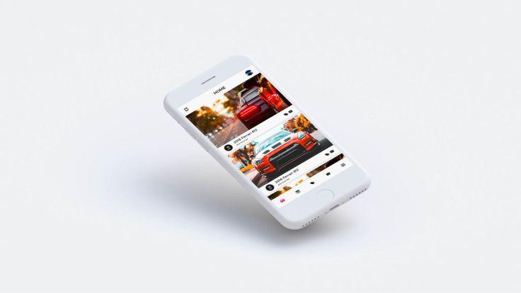 Car App ui Design Examples – 8+ Screeens – Free Mobile Designs