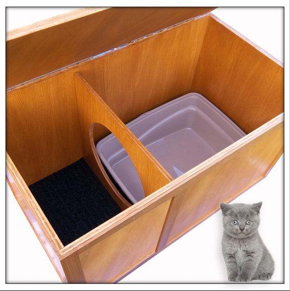 Bac à litière chat