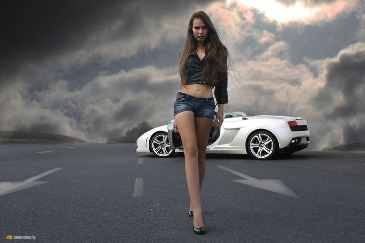 Lamborghini Gallardo & Nina by Jarek S on 500px