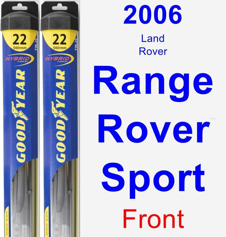 Nice Land Rover 2017: Front Wiper Blade Pack for 2006 Land Rover Range Rover Sport - Hybrid Check more at http://24cars.top/2017/land-rover-2017-front-wiper-blade-pack-for-2006-land-rover-range-rover-sport-hybrid/