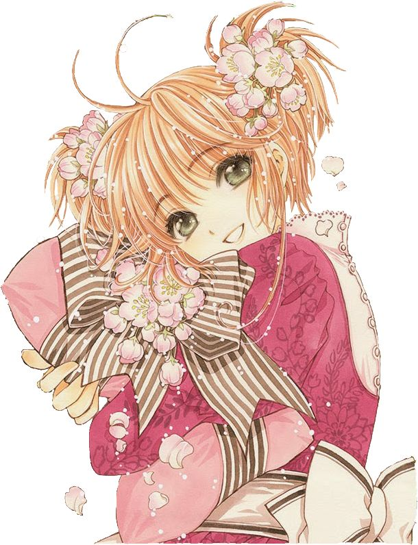 Cardcaptor Sakura// i Don't think thats her i think it's sakura from tsubasa. Sakura and Syaoran