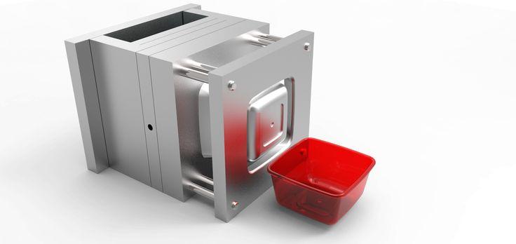 Molde de inyección - Injection mold on Behance