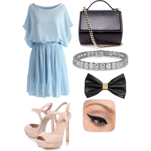Untitled #41 by bestari09 on Polyvore featuring polyvore fashion style Chicwish KG Kurt Geiger Givenchy H&M LORAC