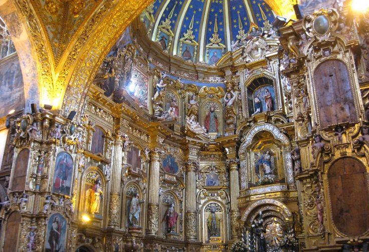 Великолепные золотые храмы Кито (Эквадор) — Все о туризме и отдыхе