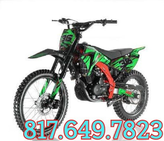 Apollo DB-36 250cc Dirt Bike Special Edition - HIGH END 250CC DIRT BIKE Sale Price: $1,349.00