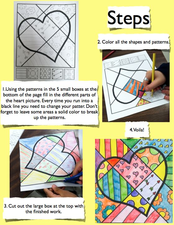 Free pop art 2 - PATTERNS. I'd encourage students to come up with their own…