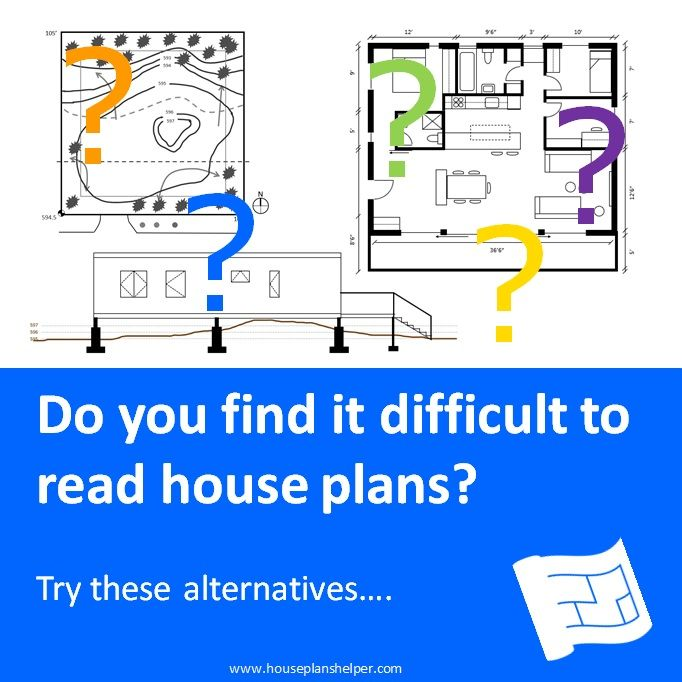 Do You Find Reading House Plans Difficult Check Out These Alternatives Also Check Out The Info On How To Read Floor Plan In 2020 How To Plan House Plans Site Plans