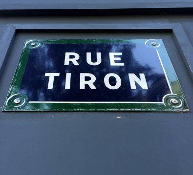 La rue Tiron  (Paris 4ème)