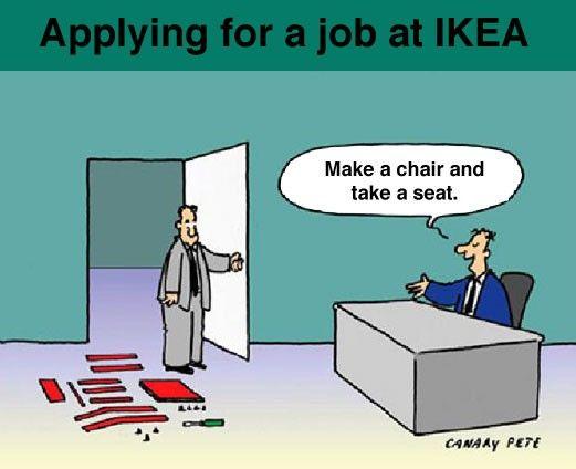 Un entretien chez IKEA