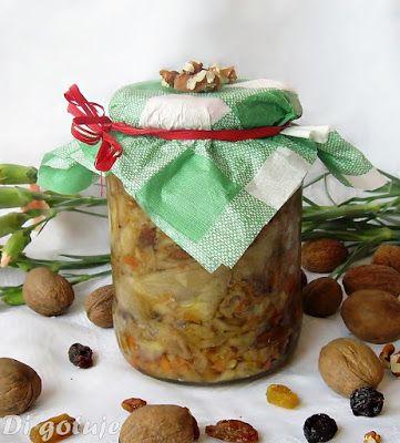 Di gotuje: Kapusta z rodzynkami i orzechami włoskimi