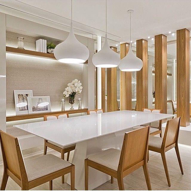 Decoracao De Sala De Jantar Com Banco ~  sala de jantar, Projeto da sala de jantar e Mobília para sala de