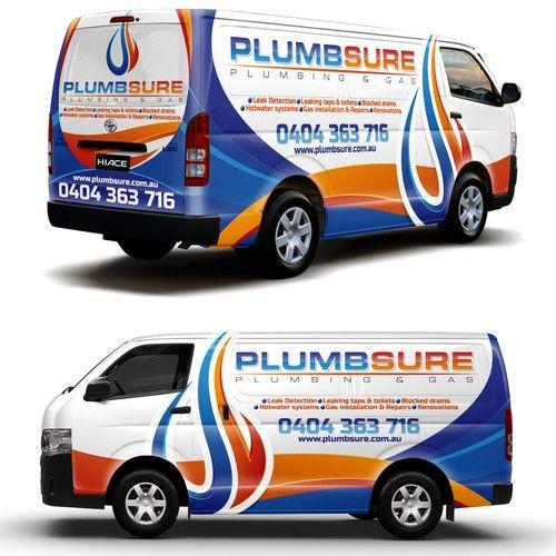 Runner Up Design By Ssrihayak Plumbing Logo Van Wrap Car Wrap