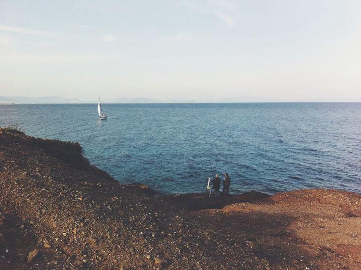 The fishermen #sea #beach #horizon #fishermen