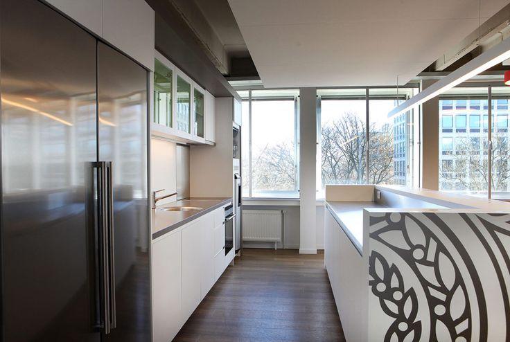 Keuken in een kantoorruimte