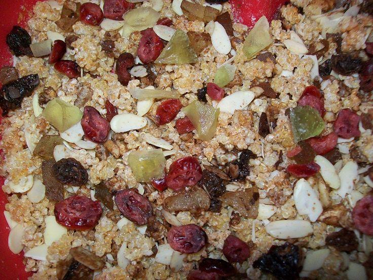 muesli di chicchi di quinoa - senza glutine