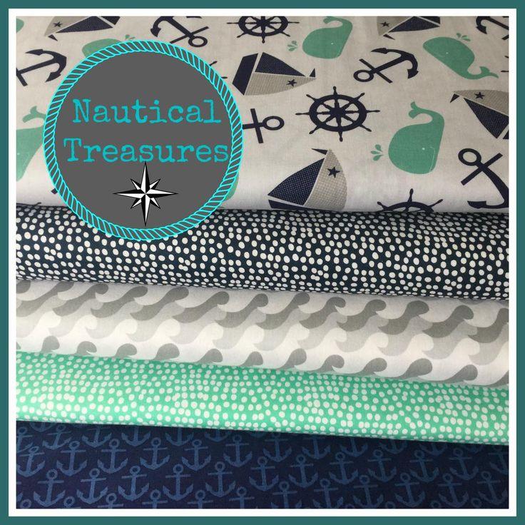 Who's feeling nautical? #Fabric #Sea #coast #Sewing http://www.elephantinmyhandbag.com/all.php#!/~/search/keywords=nautical&offset=0&sort=relevance…