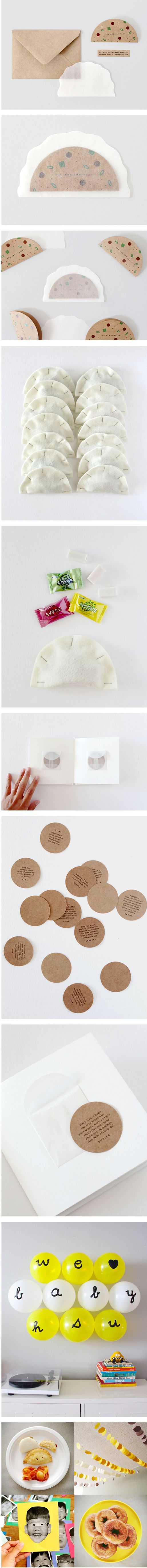 Clever invitation #packaging PD