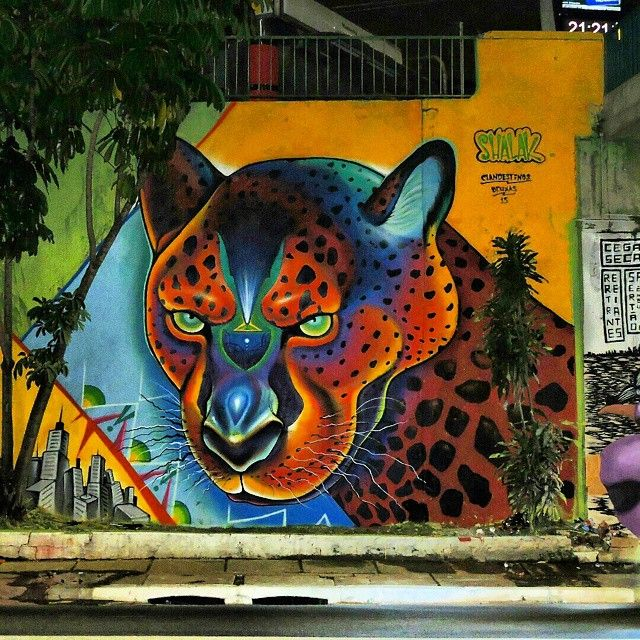 Shalak Attack for São Paulo's 461th Year on 25 January - Avenue 23 de Maio Streetart Project