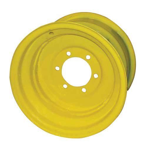 "10"" x 15"" Front Rim John Deere 1520 2630 4230 2750 2440 3020 4000 2030 4020 4430 4040 4030 2640 1020 4320  Fits John Deere Tractor(s) 1020, 1520, 2030, 2440, 2630, 2640, 2750, 3020, 4000, 4020, 4030, 4040, 4230, 4320, 4430  Width: 10""  Diameter: 15""  Holes: 6  Back Side: 5.500"""