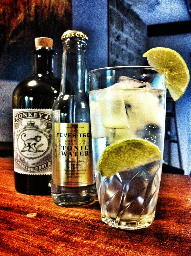 Gin Tonic - fever tree & monkey 47