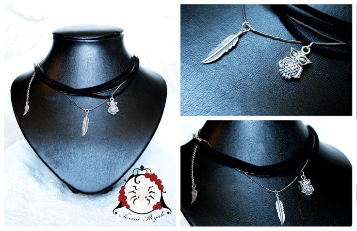 A cute owlet necklace <3