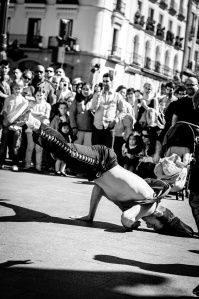 Break dance. Pedestrian dance. Freeze.