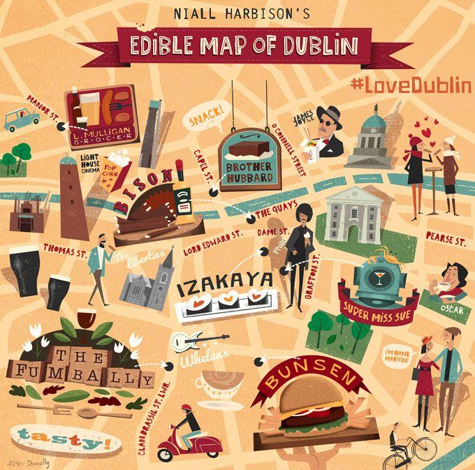 Dublin Festival Season - Niall Harbison's Edible Map of Dublin – Dublin Food Guide