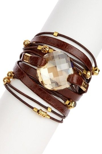 Swarovski Crystal Wrap Bracelet <3