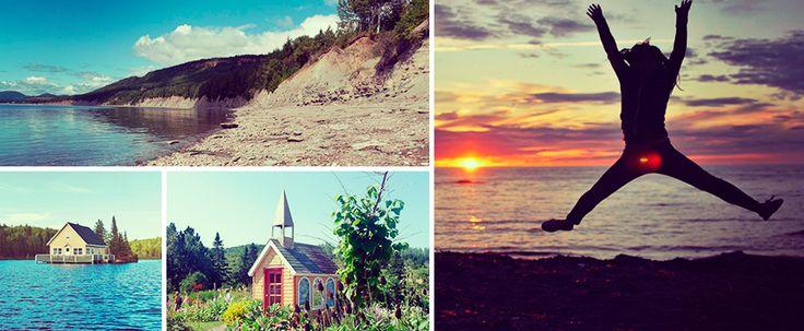 Baie des chaleurs - Road trip Gaspésie-Hostelling International Canada