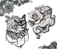 Image result for lace bow drawing