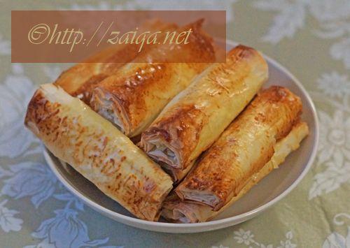 Zaiqa » Blog Archive » Healthy Ramadan Recipe – Chicken Phyllo Fingers