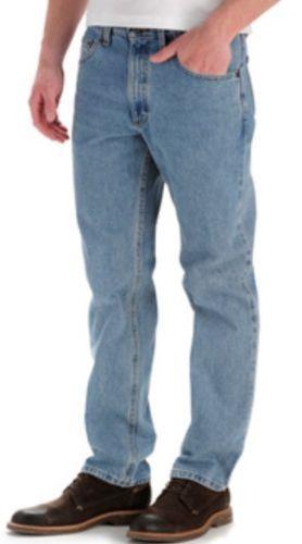 Lee NEW Light Stone Regular Fit Straight Leg 100% Cotton Jeans, Size 36 x 30