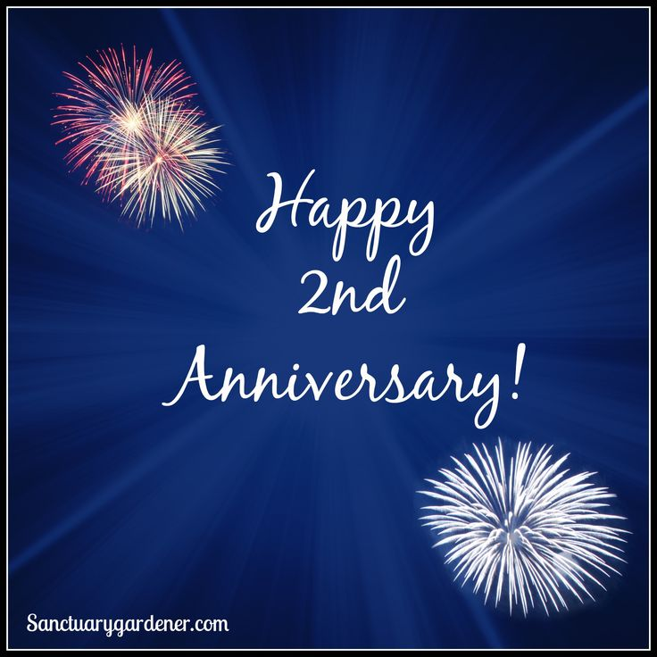Happy Second Anniversary! Anniversary wishes for