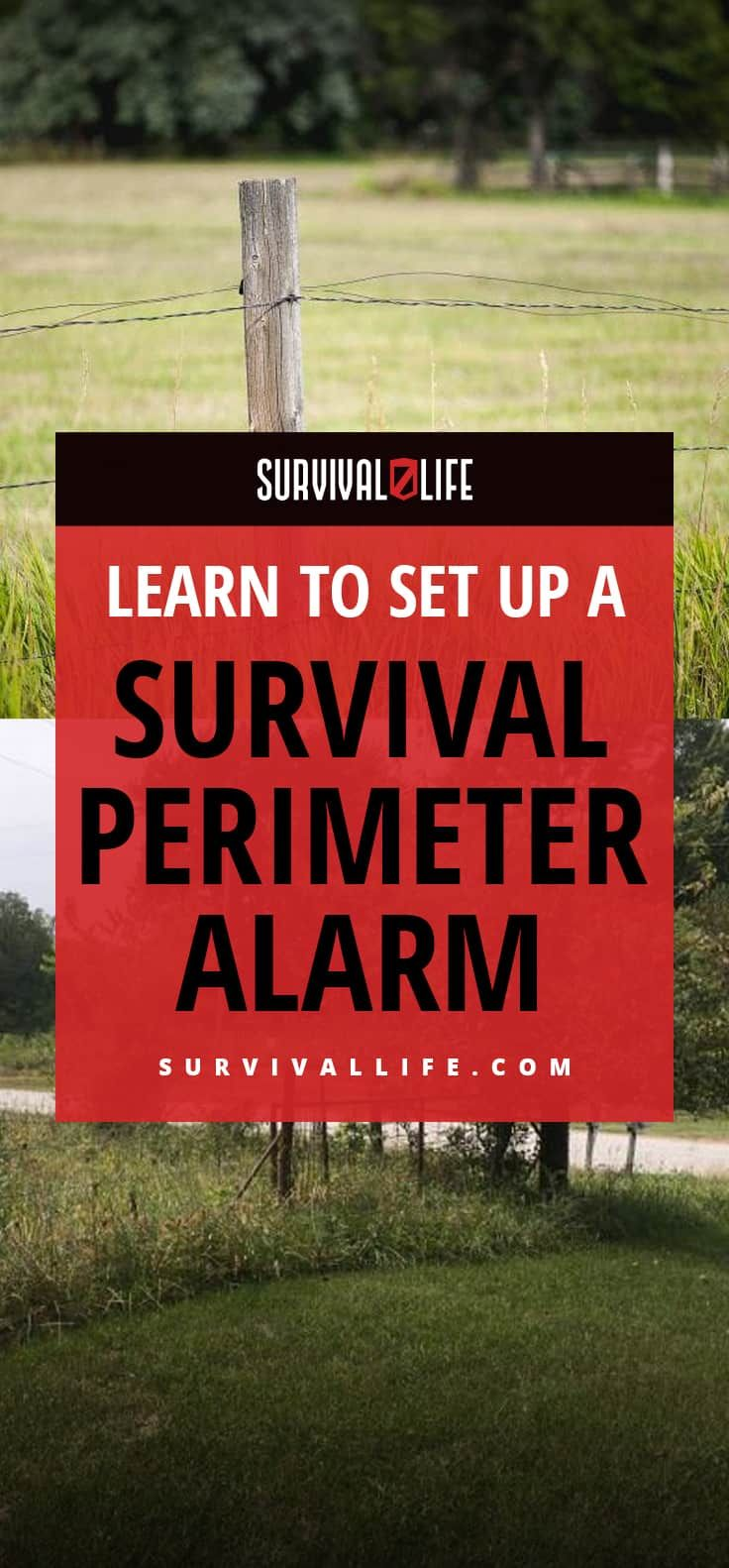 Perimeter alarm: have zones, stages and different alarms for each breach into each zone
