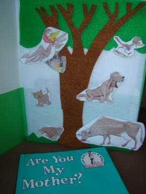 DIY felt flannel boards to retell story, play with ccharacters, etc. Directions to make included.