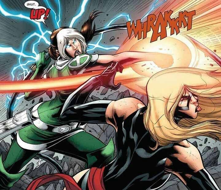 Rogue vs Ms Marvel